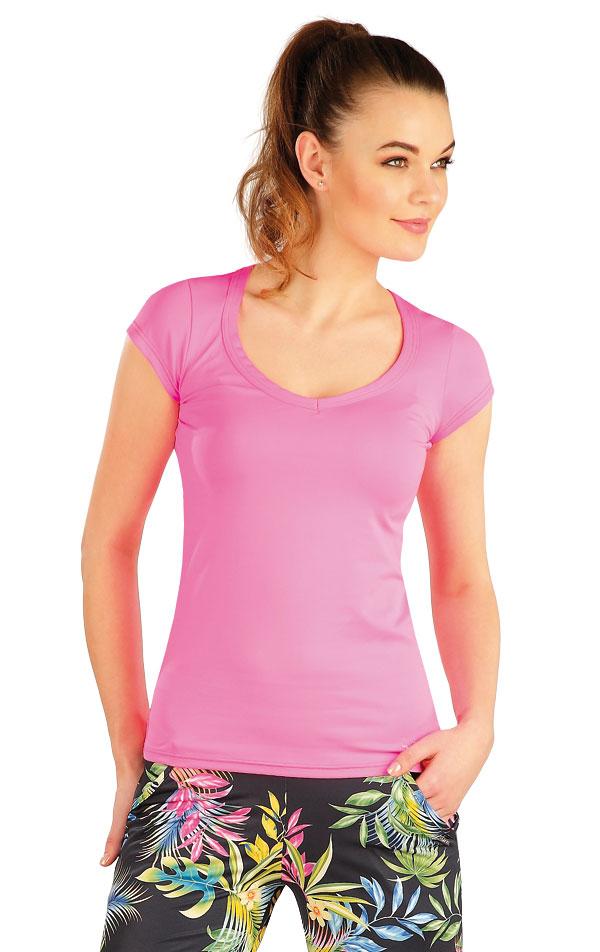 Tričko dámské s krátkým rukávem. 5A176 | Trika, topy, tílka LITEX