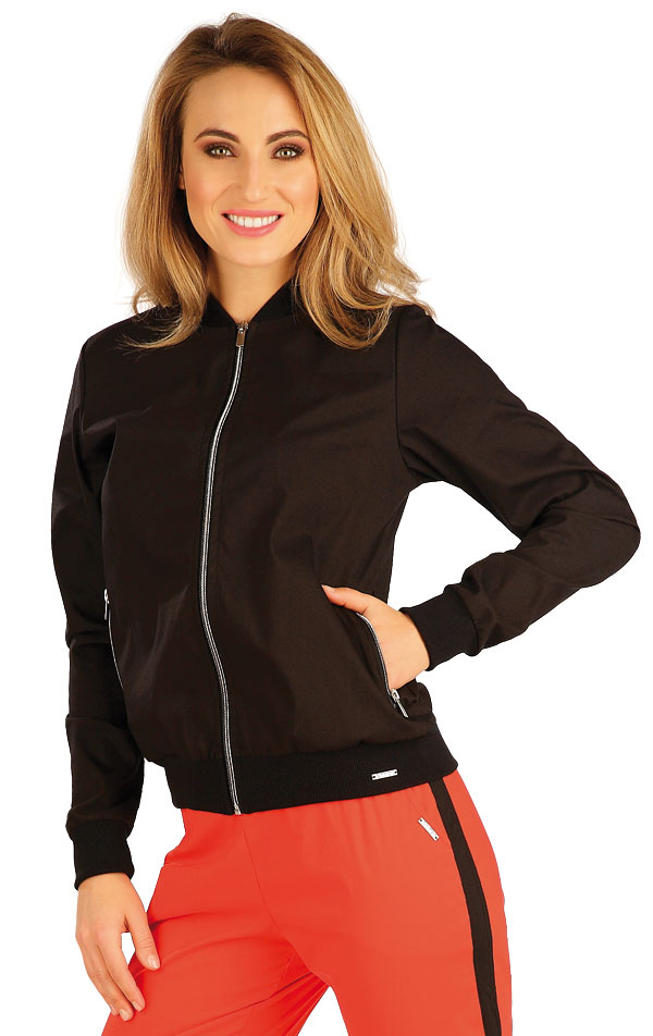 Bunda dámská na zip. 5A315 | Bundy, vesty, kabátky LITEX