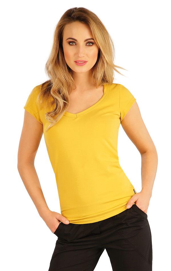 Tričko dámské s krátkým rukávem. 5A353 | Tílka, trička, halenky LITEX