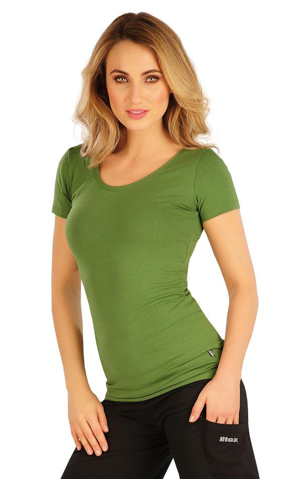 Tričko dámské s krátkým rukávem. 5A358 | Tílka, trička, halenky LITEX