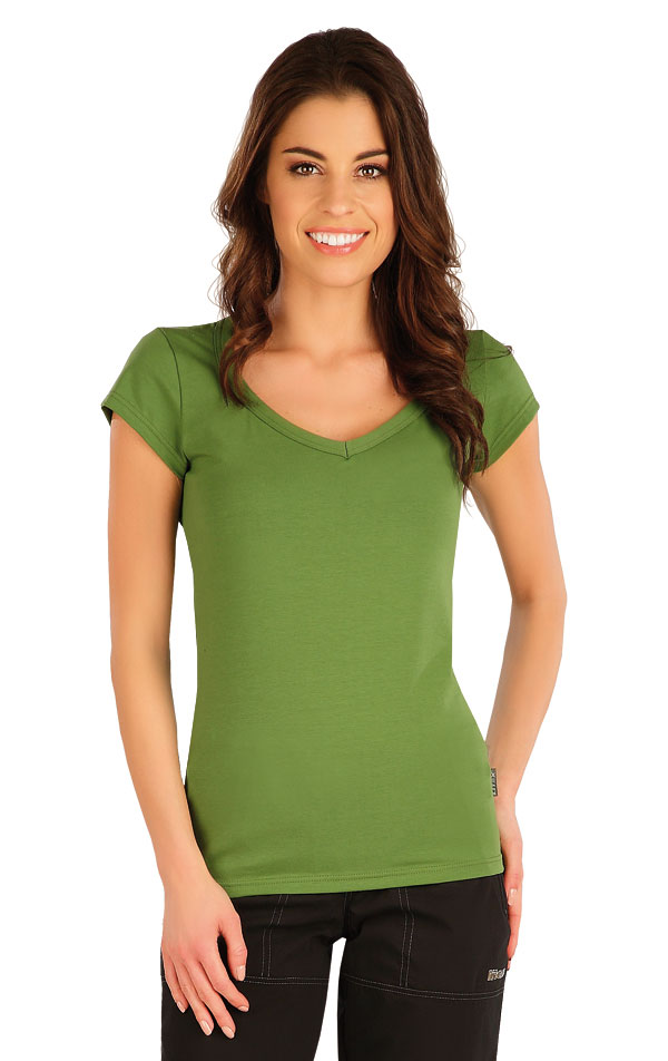 Tričko dámské s krátkým rukávem. 5A359 | Tílka, trička, halenky LITEX