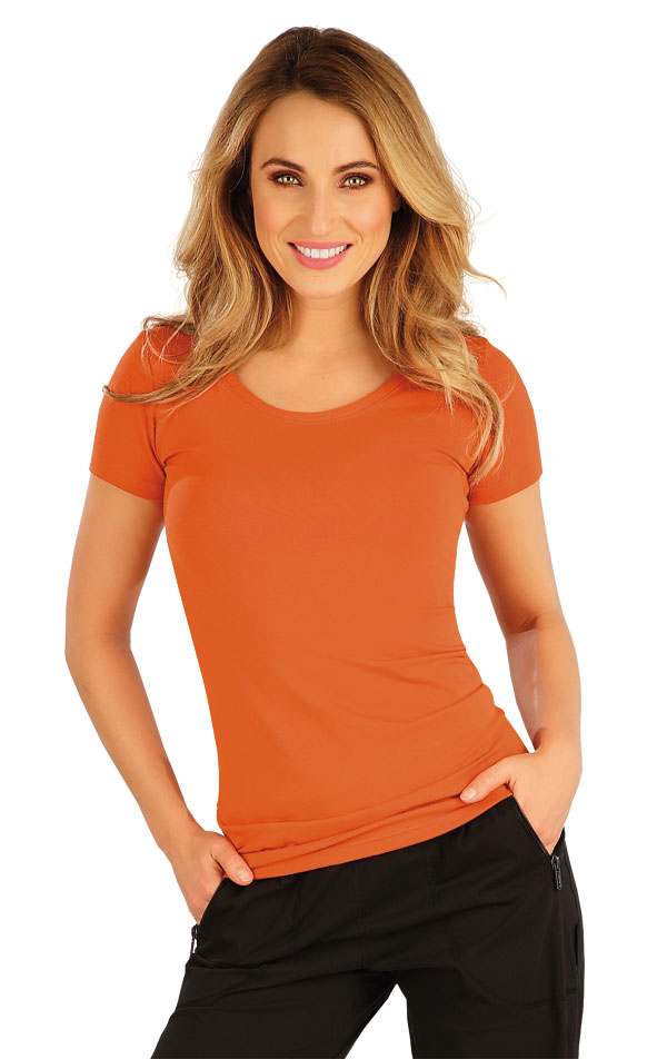 Tričko dámské s krátkým rukávem. 5A363 | Tílka, trička, halenky LITEX
