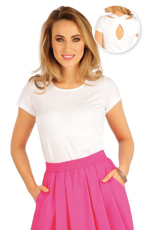 Tričko dámské s krátkým rukávem. 5A382 | Tílka, trička, halenky LITEX