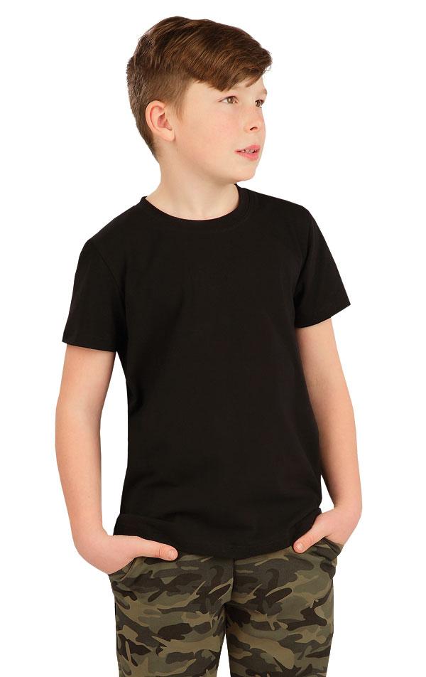 Tričko dětské s krátkým rukávem. 5A385 | DĚTSKÉ OBLEČENÍ LITEX