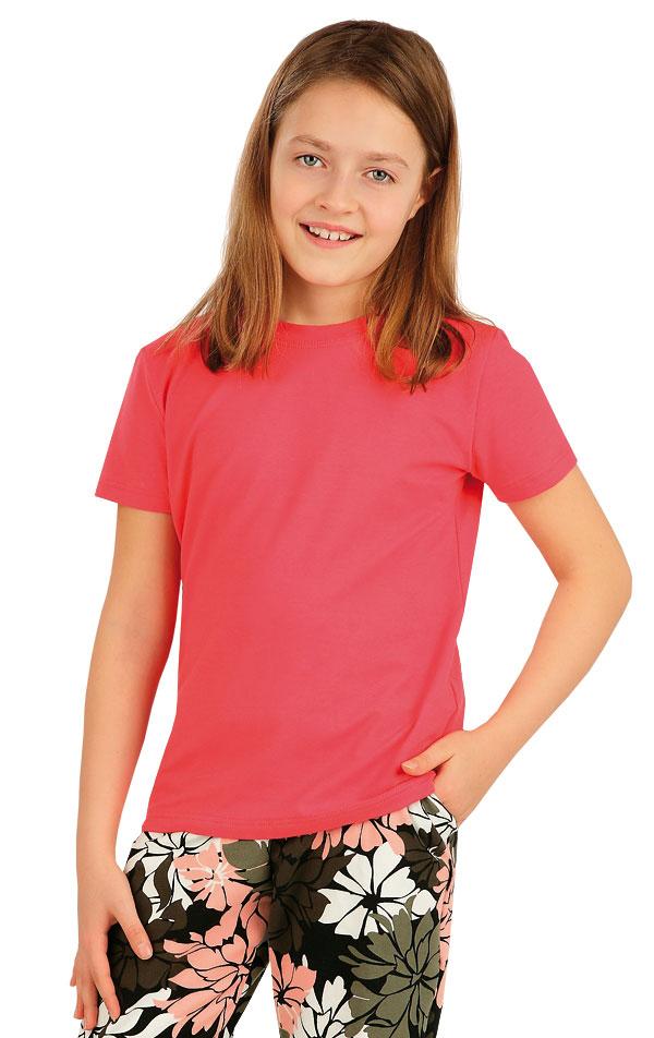 Tričko dětské s krátkým rukávem. 5A388 | DĚTSKÉ OBLEČENÍ LITEX