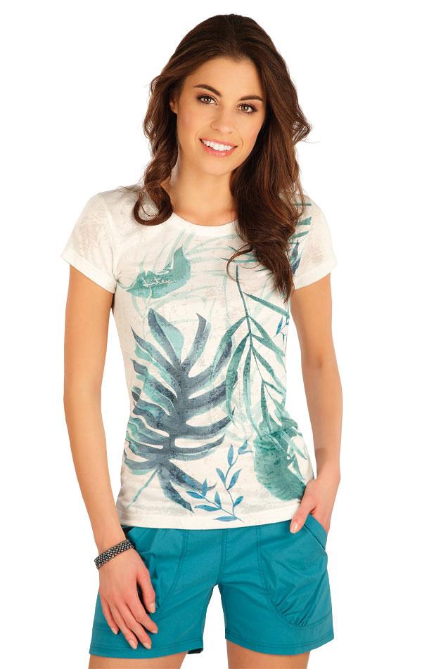 Tričko dámské s krátkým rukávem. 5A397   Tílka, trička, halenky LITEX