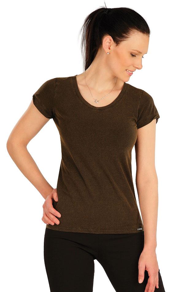 Tričko dámské s krátkým rukávem. 5A411 | Tílka, trička, halenky LITEX