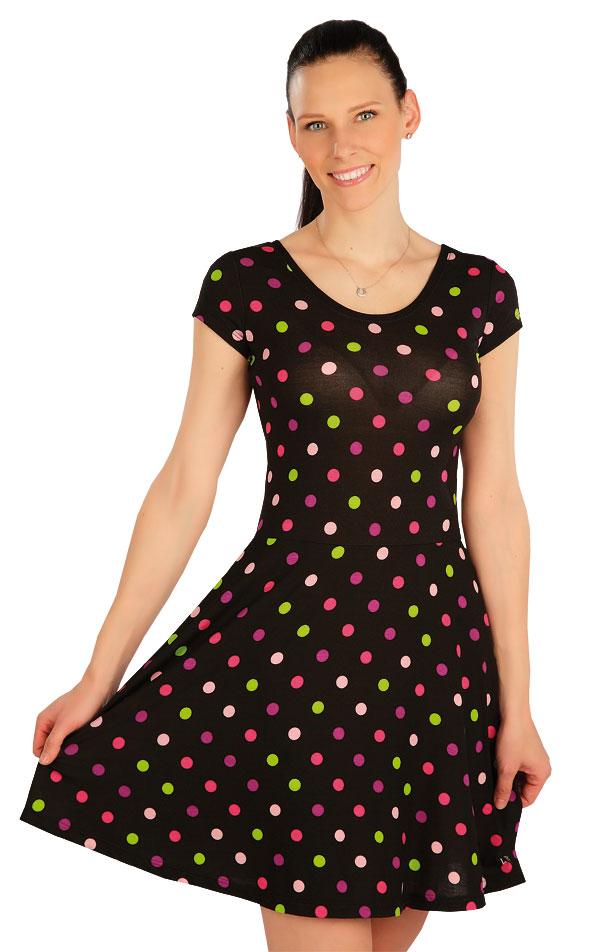Šaty dámské s krátkým rukávem. 5A416 | Šaty, sukně, tuniky LITEX