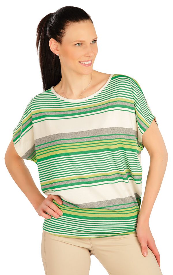 Tričko dámské s krátkým rukávem. 5A417 | Tílka, trička, halenky LITEX