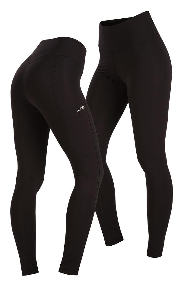 Dámské běžecké kalhoty. 5A467   Legíny dlouhé LITEX