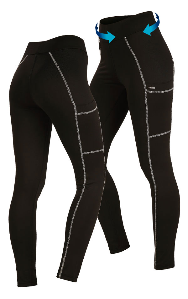 Dámské běžecké kalhoty. 5A470 | Legíny dlouhé LITEX