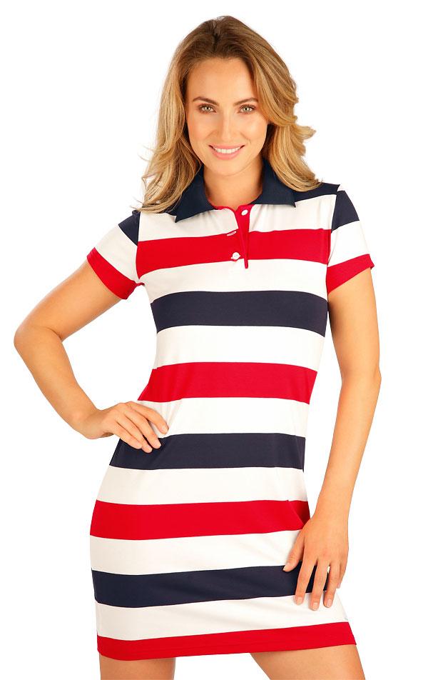 Šaty dámské s krátkým rukávem. 5B012 | Šaty, sukně, tuniky LITEX
