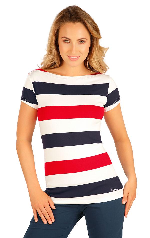 Tričko dámské s krátkým rukávem. 5B015   Tílka, trička, halenky LITEX