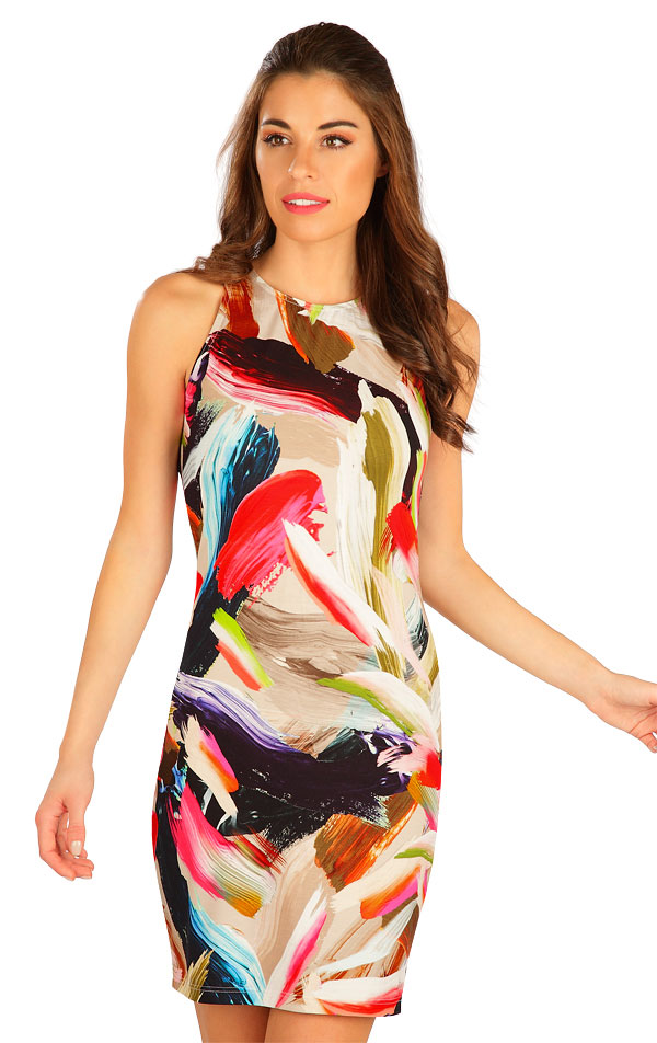 Šaty dámské bez rukávu. 5B020 | Šaty, sukně, tuniky LITEX