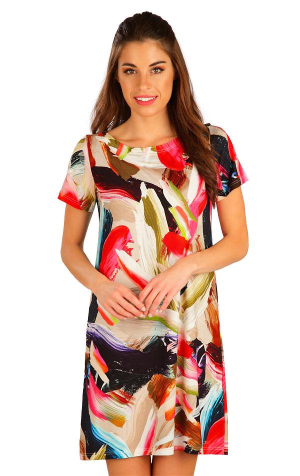 Šaty dámské s krátkým rukávem. 5B021 | Šaty, sukně, tuniky LITEX