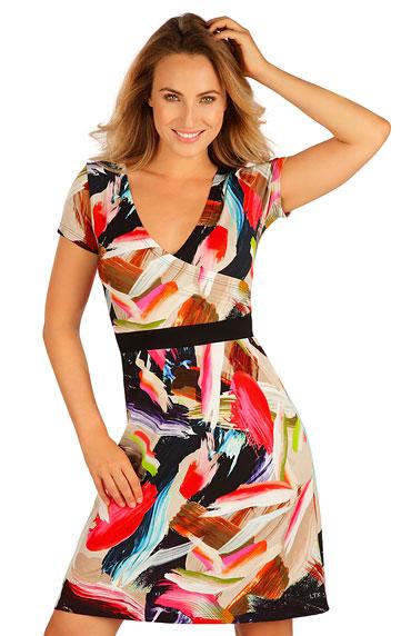 Šaty, sukně, tuniky > Šaty dámské s krátkým rukávem. 5B022