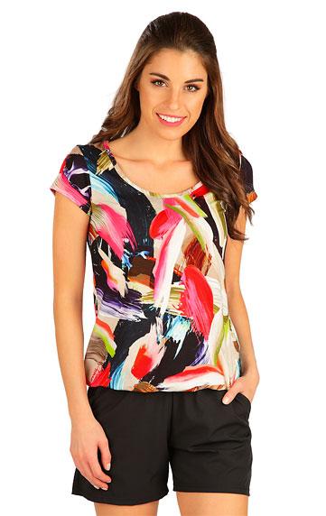 Tílka, trička, halenky > Tričko dámské s krátkým rukávem. 5B023