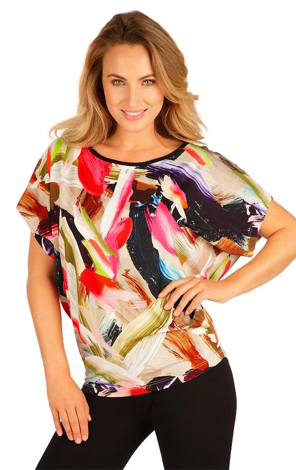 Tričko dámské s krátkým rukávem. 5B024 | Tílka, trička, halenky LITEX