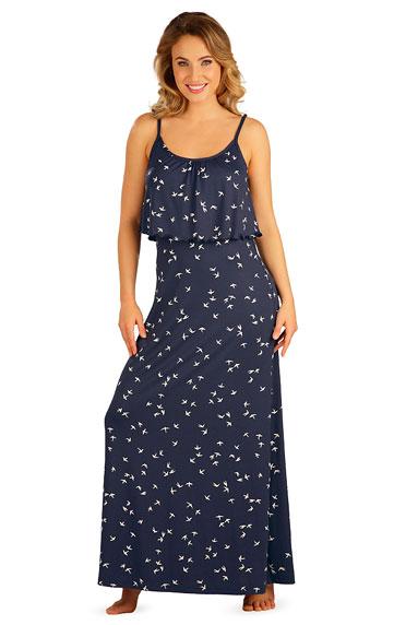 Šaty, sukně, tuniky > Šaty dámské dlouhé s volánem. 5B035