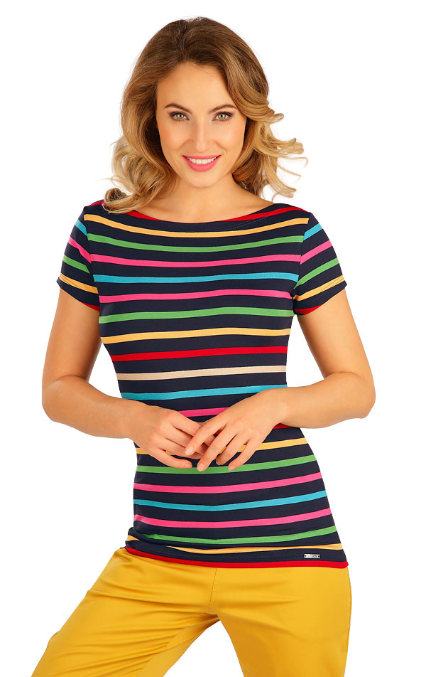 Tričko dámské s krátkým rukávem. 5B037 | Tílka, trička, halenky LITEX