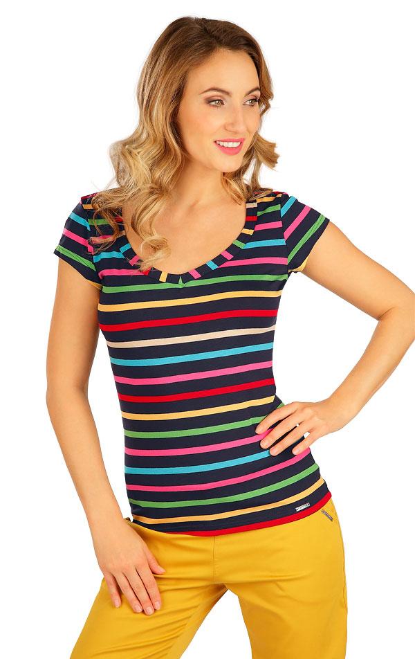 Tričko dámské s krátkým rukávem. 5B038 | Tílka, trička, halenky LITEX
