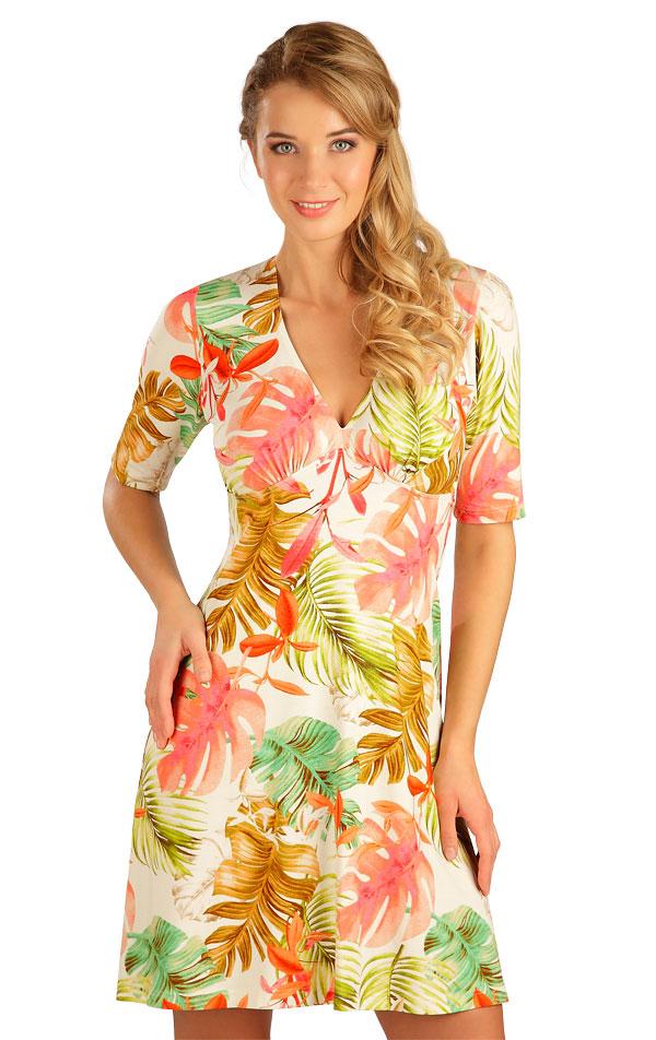 Šaty dámské s krátkým rukávem. 5B045   Šaty, sukně, tuniky LITEX
