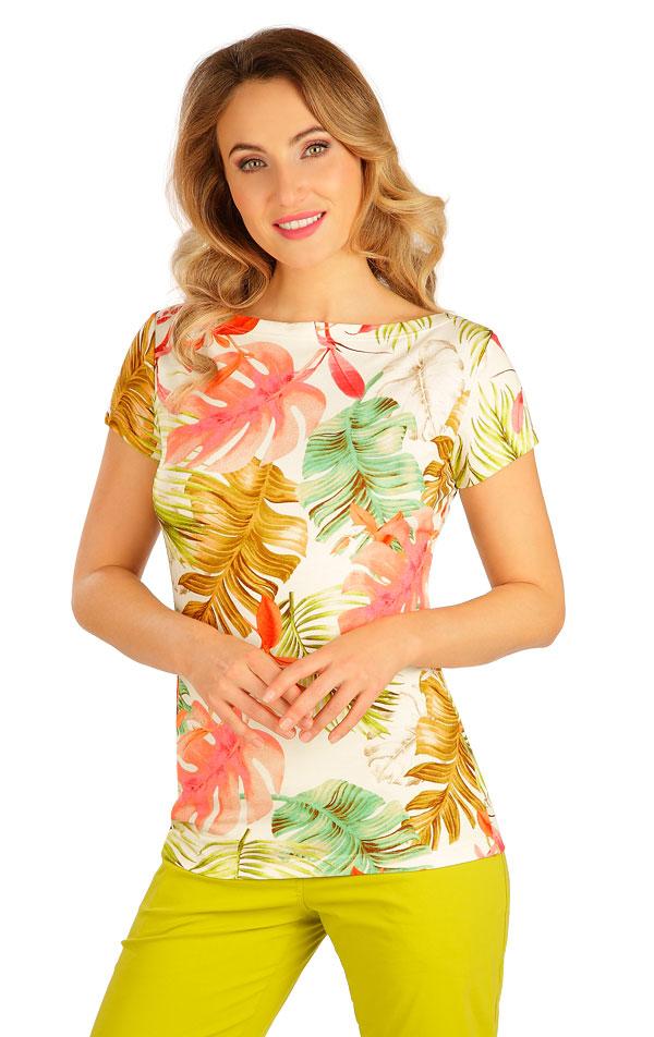 Tričko dámské s krátkým rukávem. 5B047 | Tílka, trička, halenky LITEX
