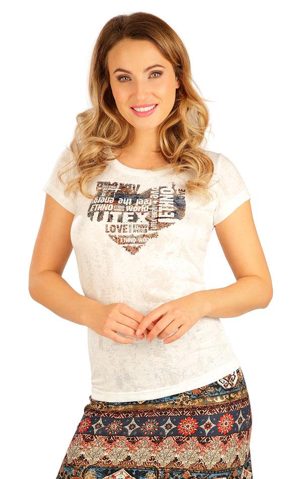 Tričko dámské s krátkým rukávem. 5B056 | Tílka, trička, halenky LITEX