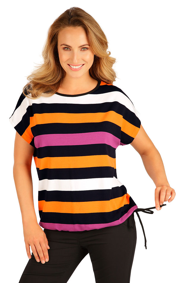 Tričko dámské s krátkým rukávem. 5B070 | Tílka, trička, halenky LITEX