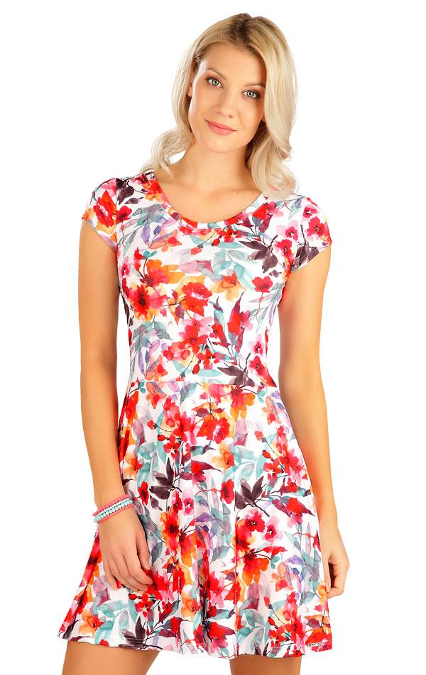 Šaty dámské s krátkým rukávem. 5B084   Šaty, sukně, tuniky LITEX