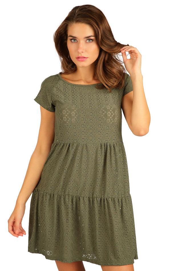 Šaty dámské s krátkým rukávem. 5B118 | Šaty, sukně, tuniky LITEX