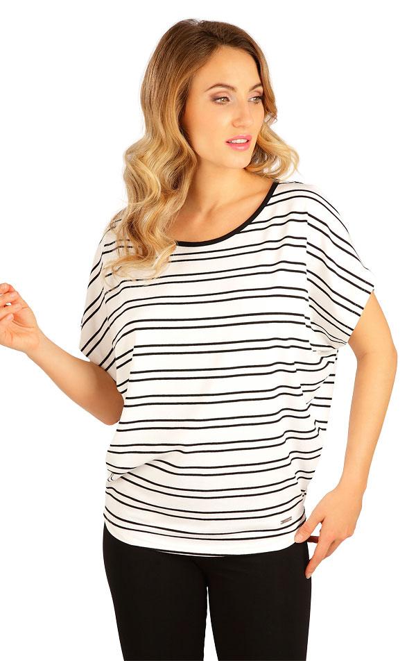 Tričko dámské s krátkým rukávem. 5B132 | Tílka, trička, halenky LITEX