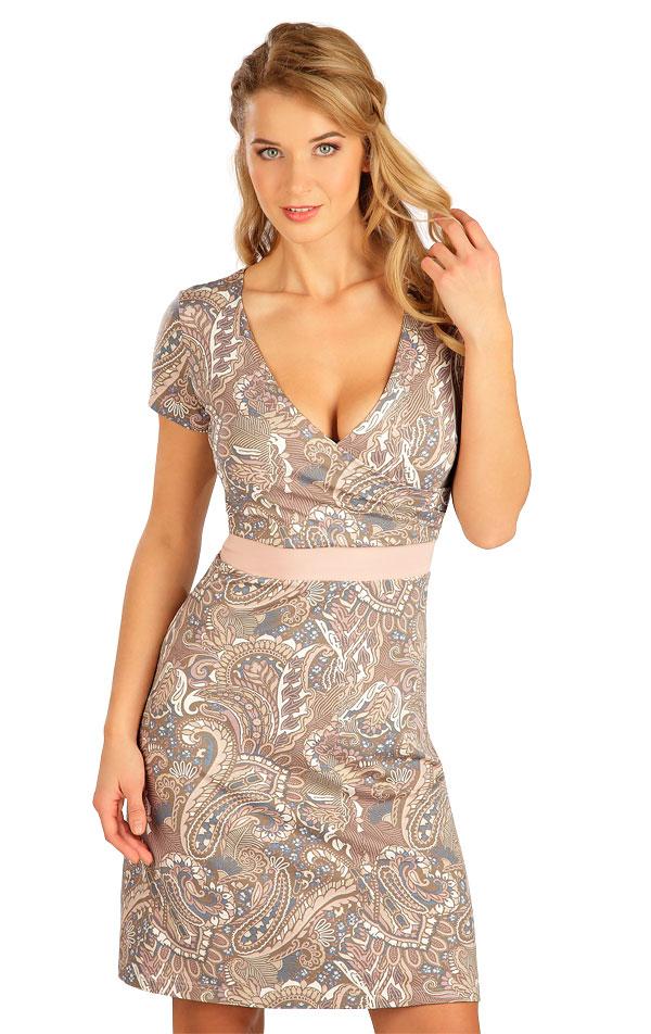 Šaty dámské s krátkým rukávem. 5B136 | Šaty, sukně, tuniky LITEX