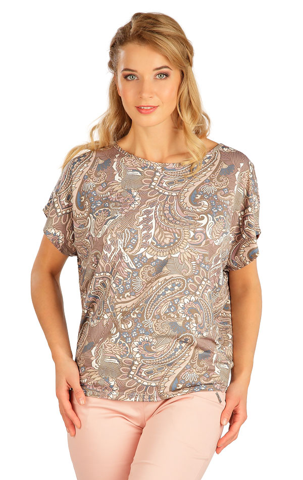 Tričko dámské s krátkým rukávem. 5B137 | Tílka, trička, halenky LITEX