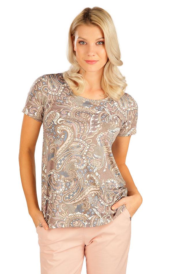 Tričko dámské s krátkým rukávem. 5B138   Tílka, trička, halenky LITEX