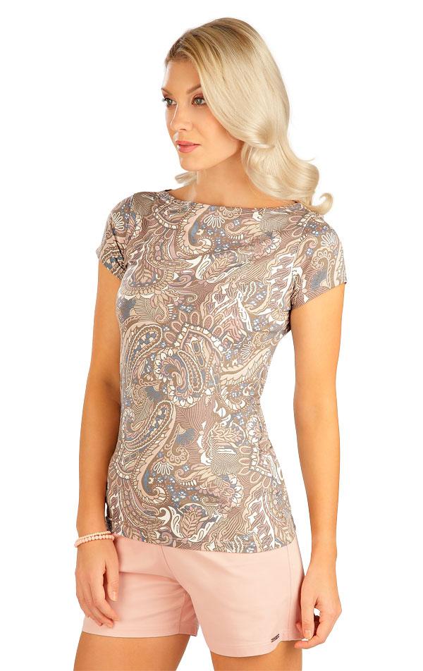 Tričko dámské s krátkým rukávem. 5B139 | Tílka, trička, halenky LITEX