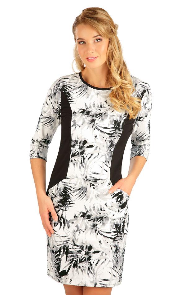 Šaty dámské s 3/4 rukávem. 5B147   Šaty, sukně, tuniky LITEX