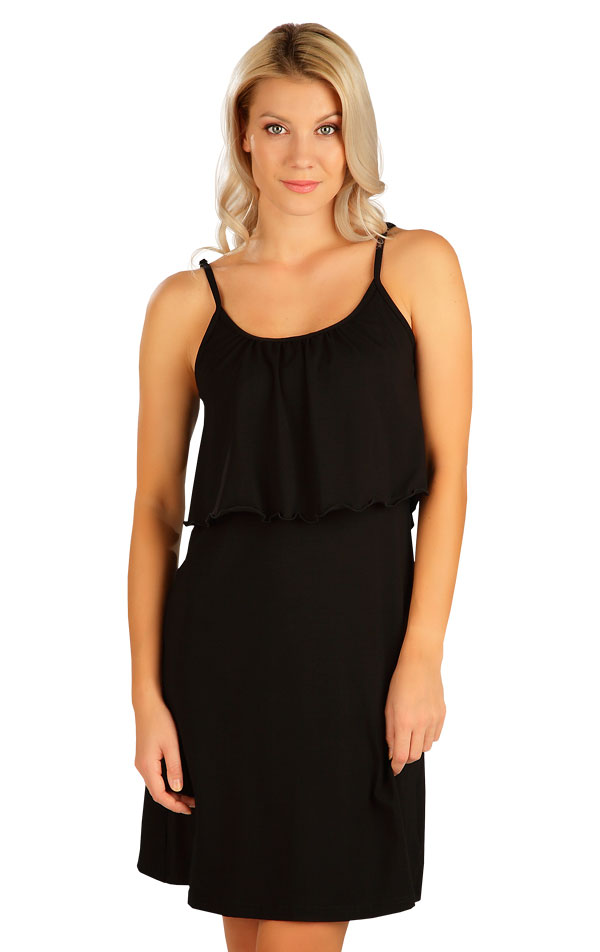 Šaty dámské s volánem. 5B165 | Šaty, sukně, tuniky LITEX