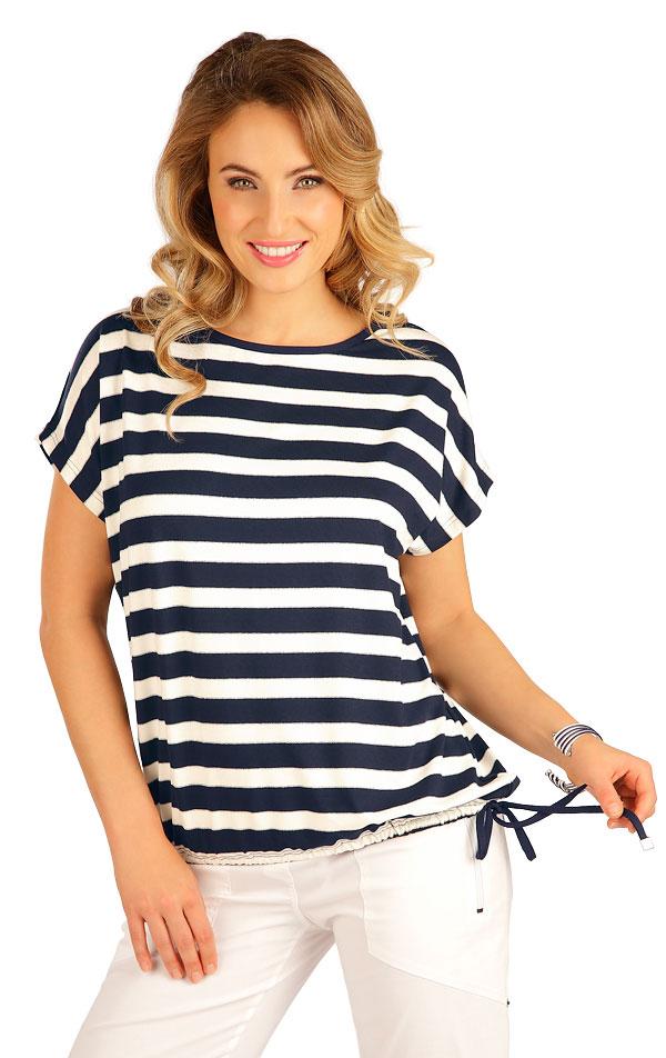Tričko dámské s krátkým rukávem. 5B178 | Tílka, trička, halenky LITEX