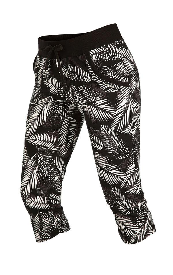 Kalhoty dámské bokové v 3/4 délce. 5B207 | Legíny, kalhoty, kraťasy LITEX