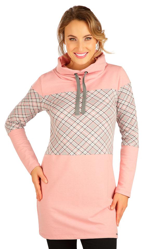 Mikinové šaty s dlouhým rukávem. 5B212   Šaty, sukně, tuniky LITEX