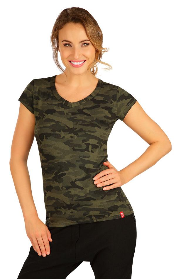 Tričko dámské s krátkým rukávem. 5B272 | Tílka, trička, halenky LITEX
