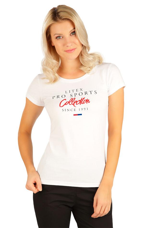 Tričko dámské s krátkým rukávem. 5B277 | Tílka, trička, halenky LITEX