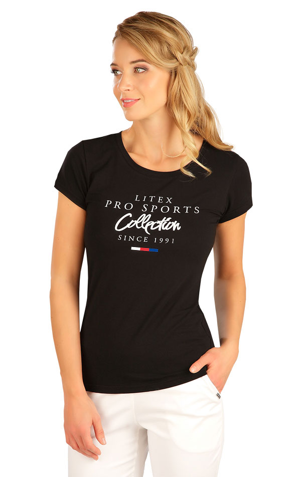 Tričko dámské s krátkým rukávem. 5B278 | Tílka, trička, halenky LITEX