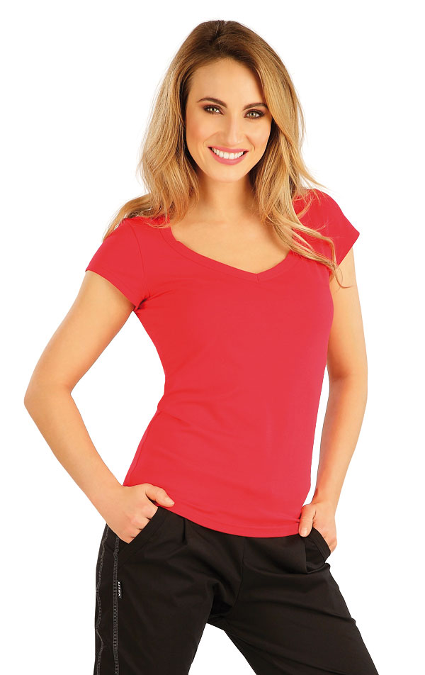 Tričko dámské s krátkým rukávem. 5B280 | Tílka, trička, halenky LITEX