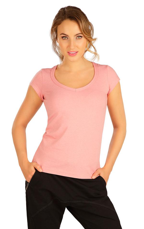 Tričko dámské s krátkým rukávem. 5B284 | Tílka, trička, halenky LITEX