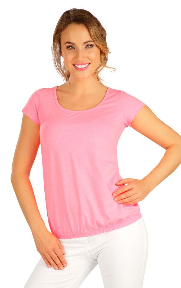 Tričko dámské s krátkým rukávem. 5B286 | Tílka, trička, halenky LITEX