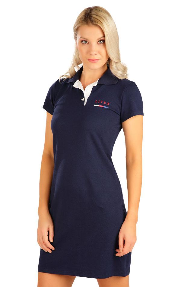 Šaty dámské s krátkým rukávem. 5B302   Šaty, sukně, tuniky LITEX