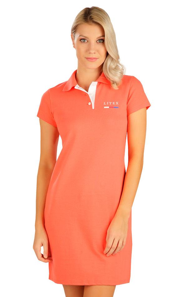 Šaty dámské s krátkým rukávem. 5B303   Šaty, sukně, tuniky LITEX