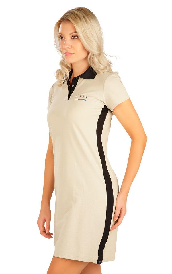 Šaty dámské s krátkým rukávem. 5B305   Šaty, sukně, tuniky LITEX